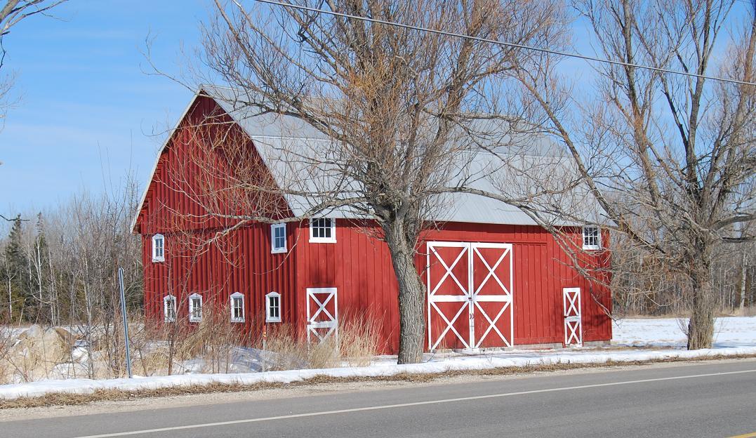 Barns Of Mackinac County Michigan