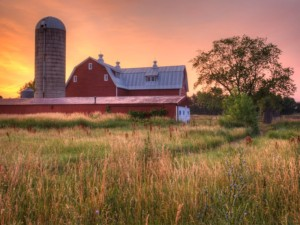 Photo of Ottawa County Parks barn; Ottawa County, MI.