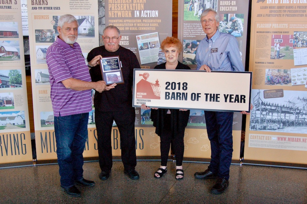 2018 Barn of the Year Award Winners – Michigan Barn